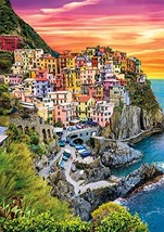 Buffalo Games - Earthpix Collection - Cinque Terre Sunset - 500Piece Jigsaw Puzz - $14.73
