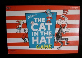 DR SEUSS THE CAT IN THE HAT BOARD GAME MOVIE EDITION UNIVERSITY GAMES TH... - $13.33
