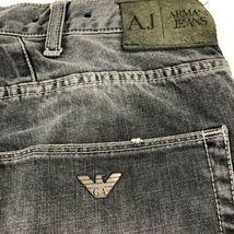 Armani Men's Gray Jeans Straight 32 image 3