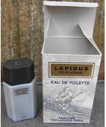Ted Lapidus Pour Homme Eau De Toilette 4 ml Mini New in Box - $12.99