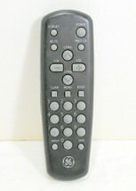 GE General Electric CRK20A1 Black Grey TV Remote Control Tested Works Free Ship - $13.95