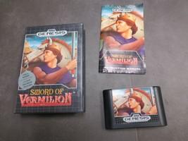 Sword of Vermilion (Sega Genesis, 1990) - $25.99