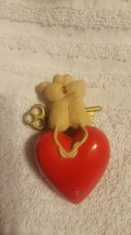 "1995 Hallmark Keepsake Ornament ""Our First Christmas Together"" Heart and Key image 2"