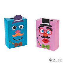 Silly Face Valentine Box Craft Kit - $19.62