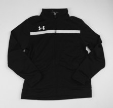 New Under Armour Campus Warm Up Training Jacket Boys's Small Black 1239378 - $31.67