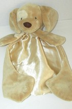 Baby Gund Spunky tan puppy dog Huggybuddy beige tan 058968 Security Blan... - $14.84
