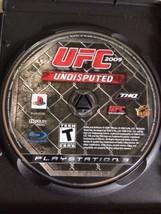 UFC 2009 Undisputed für PLAYSTATION 3 PS3 Wrestling mit Anleitung und Et... - $10.66