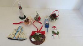 8 Christmas Sea Side Beach Ornament - $12.19