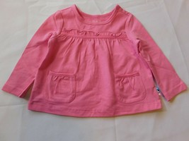 The Children's Place Baby Girl's Long Sleeve Shirt Size Variations Pink NWT - $13.49