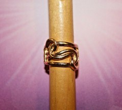 Solid Gold Tone No Stones Stretch Ring Paparazzi Jewelry New Gift - $7.82