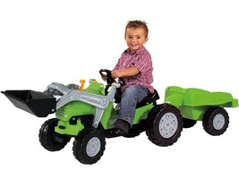 Big Jimmy Pedal Tractor Loader plus Trailer Kids Ages 3+ image 1