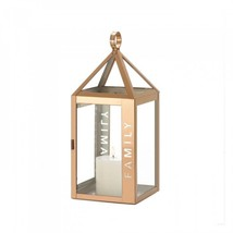 Rose Metal Frame Family Lantern - $28.46