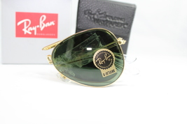 Ray-Ban RB3479 001/51 Folding Aviator gold Frame / green Gradient Lens 58mm - $145.00