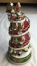 2003 Avon bear Band Striking Bell on Spiral Stairway FOR PARTS ONLY - $28.04
