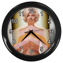 Marilyn Monroe Decorative Wall Clock (Black) Gift model 35699820 - $18.18