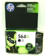 Genuine HP 564XL Black Genuine Ink Cartridge NEW exp 4/2019 - $12.99