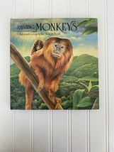 Amazing Monkeys National Geographic Action Pop-Up book Hardcover - $28.68