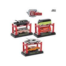 Auto Lift Series 16, 6pc Set 1/64 Diecast Model Cars by M2 Machines - $66.96+