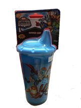 An item in the Baby category: SUPER HERO SQUAD SIPPER DRINKING CUP - YELLOW AND BLUE COLORS AVAILABLE