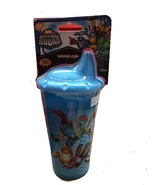 SUPER HERO SQUAD SIPPER DRINKING CUP - YELLOW AND BLUE COLORS AVAILABLE - $8.25