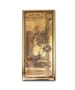 10 Utah Goldback Aurum Gold Note 1/100 oz 24KT  - $45.00