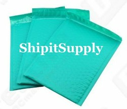 1-500 #0 6x10 Poly (Teal) Color Bubble Padded Mailers Fast Shipping - $2.99+