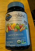 mykind Organics Mens Multi Gummies by Garden of Life, 120 count EXP 12/2022 - $26.73