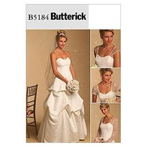 Butterick Sewing Pattern 5184 - Ladies Bridal Sizes: 16-18-20-22 - $14.84
