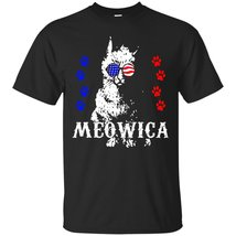Meowica 4th of July Funny cat T-shirt - ₨1,622.97 INR+
