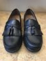 Dockers Mens Black Leather Loafers, 11 - $89.10