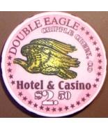 $2.50 Casino Chip. Double Eagle, Cripple Creek, CO. V32. - $4.99