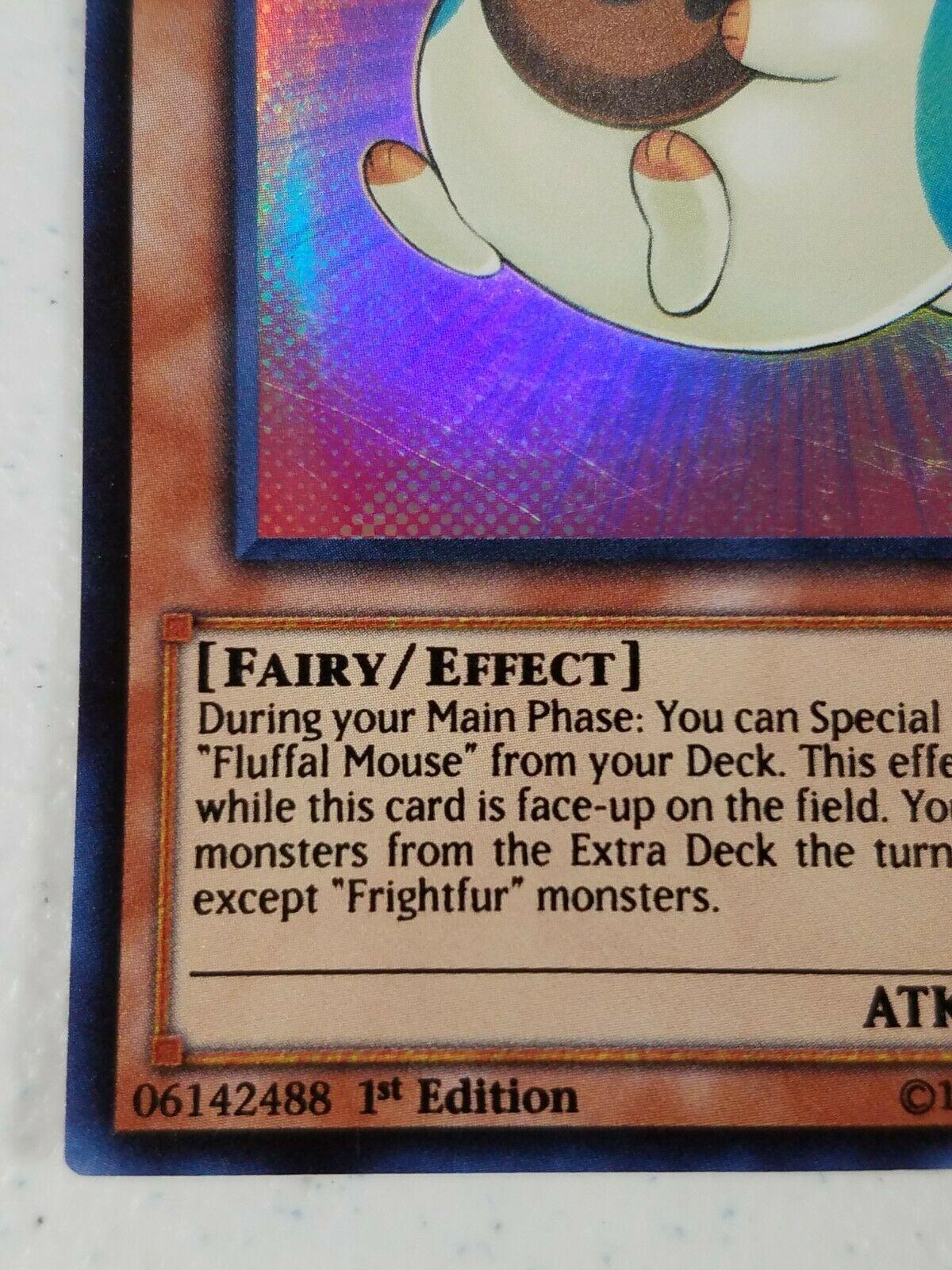 Yu-gi-oh! Trading Card - Fluffal Mouse - CORE-EN010 - Super Rare - 1st Ed.