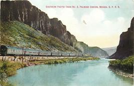 DB Vintage Postcard NV AH C120 Southern Pacific Train No. 2 Palisade Can... - $9.00