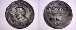 1797 Italian States Papal States 2-1/2 Baiocchi World Coin - Pius VI -  ... - $99.99