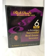 Rich Dad's 6 Steps to Becoming a Successful Real Estate Investor VHS Cas... - $19.79