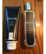 White Cosmic Body Cream And 8 oz Fine Fragrance Mist Bath & Body Works A... - $24.98
