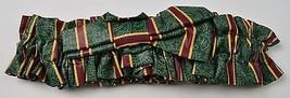 Longaberger Medium Basket Garter Imperial Stripe Fabric Collectible Home Decor - $10.99