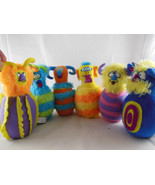 Melissa and Doug Monster Bowling Monster pins plush toys - $17.81