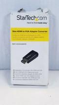 Startech.com Compact HDMI to VGA Adapter Converter - HD2VGAMICRO - $12.83