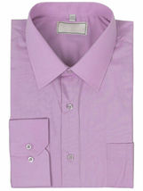 Men's Solid Long Sleeve Formal Button Up French Convertible Cuff Dress Shirt image 12