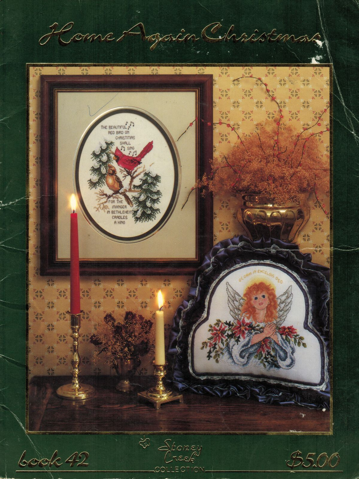 Primary image for Cross Stitch Home Again Christmas Inspirational Angels Gloria Cardinal Patterns