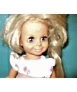 Crissy Family Velvet with Blond Hair Growing and Twist at Waist by Ideal  - $25.00
