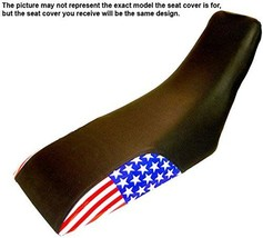 Honda XL350R US Flag Dirt Bike Seat Cover Year 1974 To 1975 - $59.99