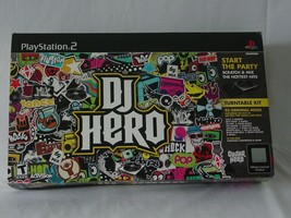 DJ Hero Turntable kit for Playstation 2 includes Turntable and Game - $9.49