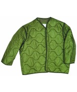 Fox M65 Field Jacket Liner, Olive Drab, 2XLarge - $37.99