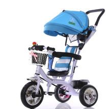 BIKIGHT Kids Tricycle Bike Children 3 Wheels With Shade Toddler Balance ... - $249.60