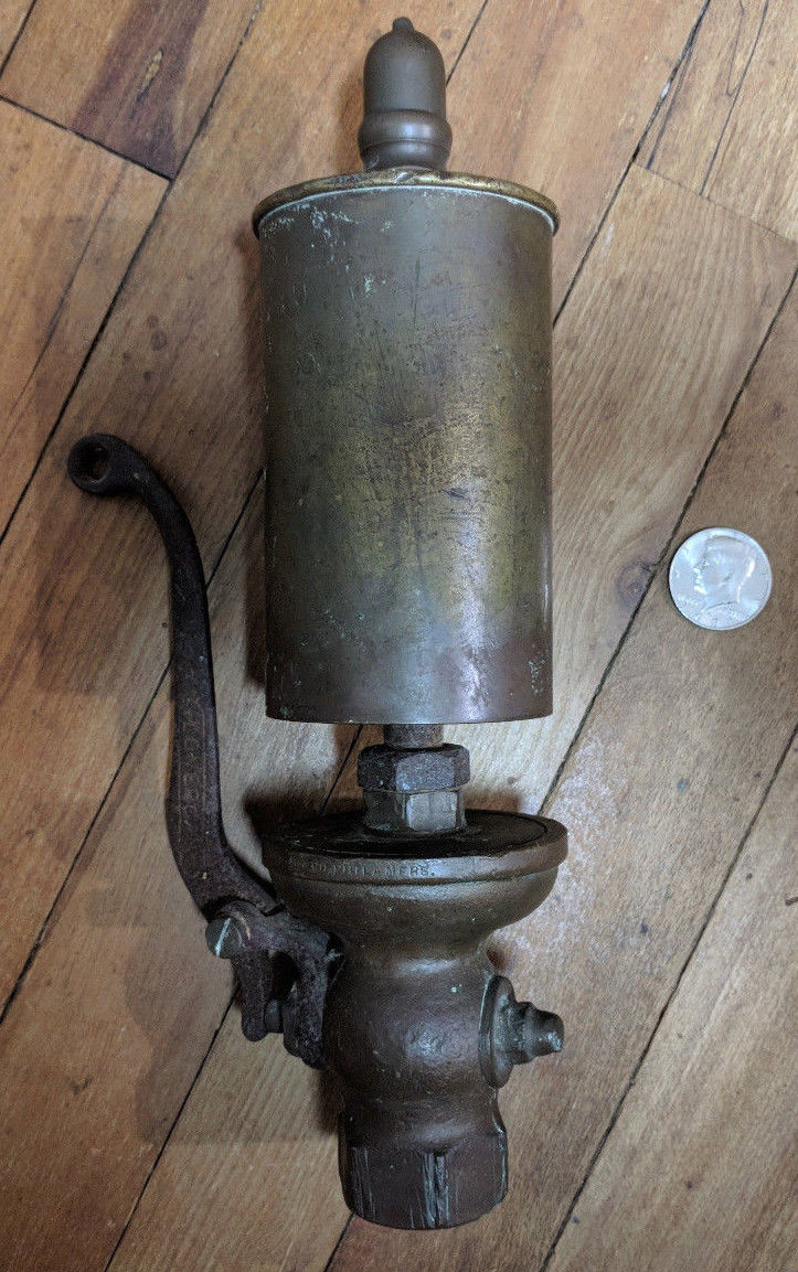 Brass Steam Whistle Lonergan Three Chime For Locomotive