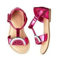 Gymboree Girls Watermelon Sandals Size 5 7 NWT - $16.99