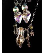 Goddess necklace and bracelet - fairy necklace - unicorn bracelet - stat... - $195.00