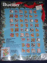 Christmas Critters Ornaments Perforated Plastic Kit by Bucilla Set of 48* - $33.64
